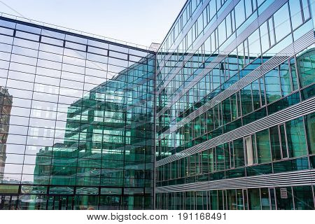 modern business office building exterior in Vien
