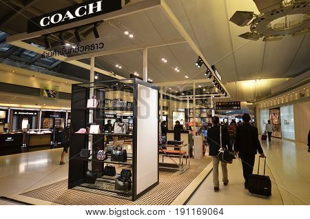 Coach Boutiqie At Suvarnabhumi Airport