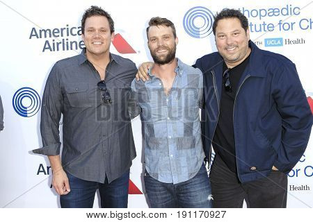 LOS ANGELES - JUN 10: Bob Guiney, Jesse Spencer, Greg Grunberg at the 2017 Stand For Kids Annual Gala Benefiting Orthopedic Institute For Children at The MacArthur on June 10, 2017 in Los Angeles, CA