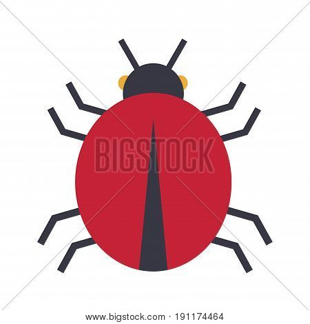 cyber security danger malware virus design vector illustration