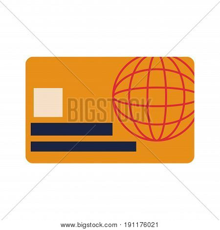 credit card online payment financial operations vector illustration