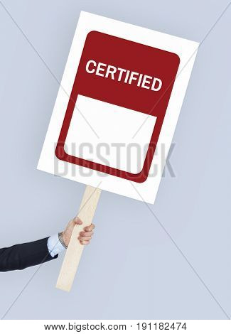 Certified Coming Soon Completed Sticker