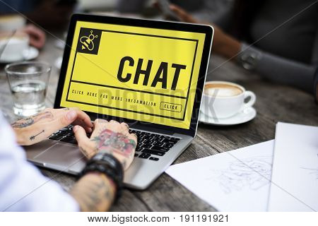 Yellow Bee Website Homepage Chat Phrases