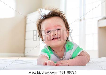 Happy Baby Boy Smiling