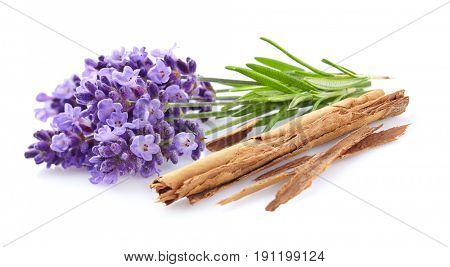 Lavender with cinnamon