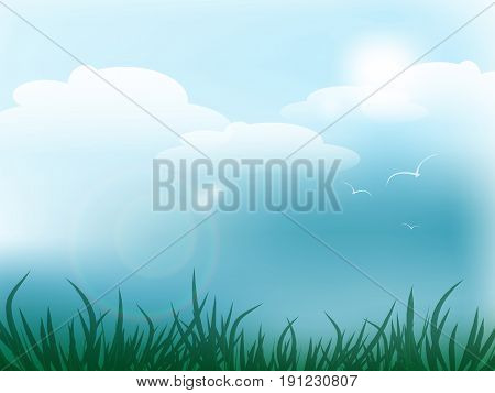 Summer vector design. Illustration of the summer vacation. elements for your design. Eps10