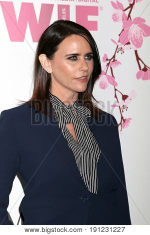 LOS ANGELES - JUN 13:  Amy Landecker at the Women in Film Los Angeles Celebrates the 2017 Crystal and Lucy Awards at the Beverly Hilton Hotel on June 13, 2017 in Beverly Hills, CA