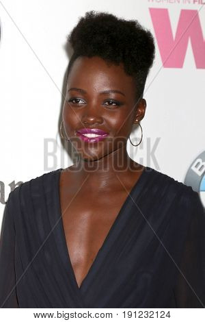 LOS ANGELES - JUN 13:  Lupita Nyong'o at the Women in Film Los Angeles Celebrates the 2017 Crystal and Lucy Awards at the Beverly Hilton Hotel on June 13, 2017 in Beverly Hills, CA