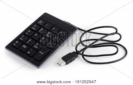 Mini portable qwerty keyboard for mobile phones tablets and smartphones