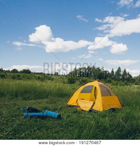Tent On The Nature