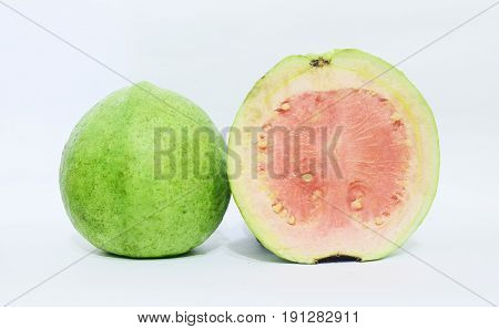 Fresh guava with good quality ready to eat