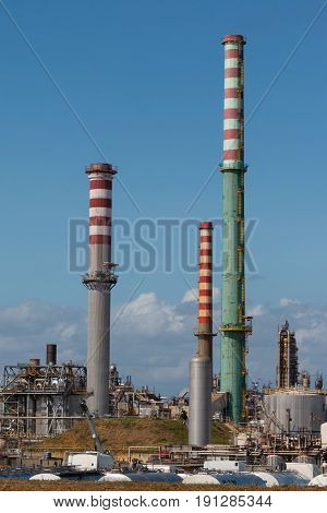 Industry Area: Refinery and Pipelines Industry Zone