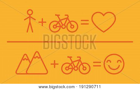 Creative Equation About Bicycles