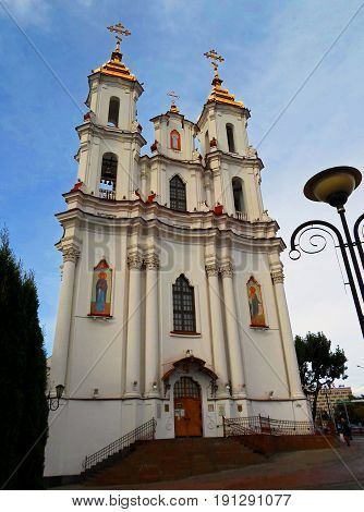 The Church of Resurrection Christ, Vitebsk, Belarus - September 2016