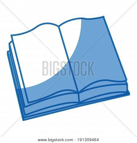 open book learn read knowledge study vector illustration
