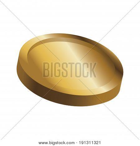 gold coin casino money treasure icon vector illustration