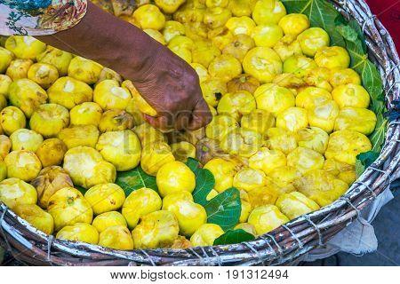 Figs In A Basket