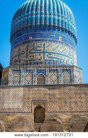 Bibi-khanym Mosque, Samarkand, Uzbekistan