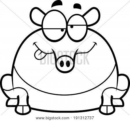 Drunk Cartoon Tapir