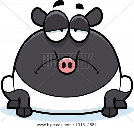 Sad Cartoon Tapir