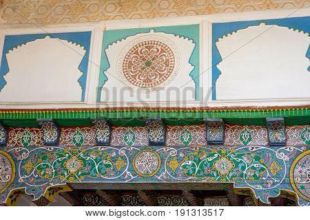 Hazrat Khizr Mosque Detail, Samarkand, Uzbekistan