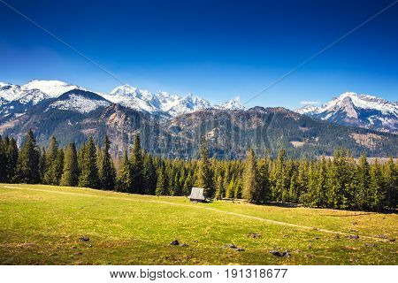 Picteresque Alpine Valley