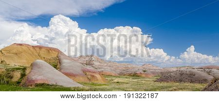 Badlands National Park Panorma