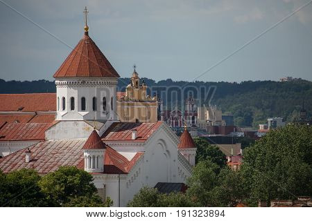Cathedral Of The Dormition Of The Theotokos In Vilnius, Lithuania