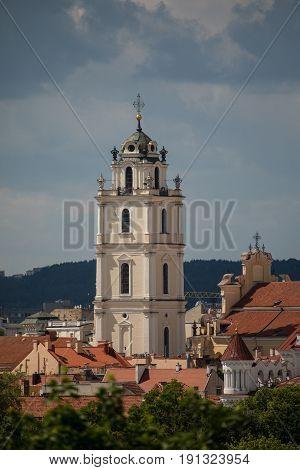 Church Of St. Johns In Vilnius, Lithuania