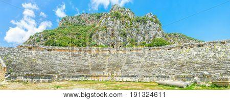 Panorama Of Amphitheater