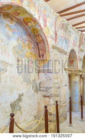Fresco Of The St Nicholas Church