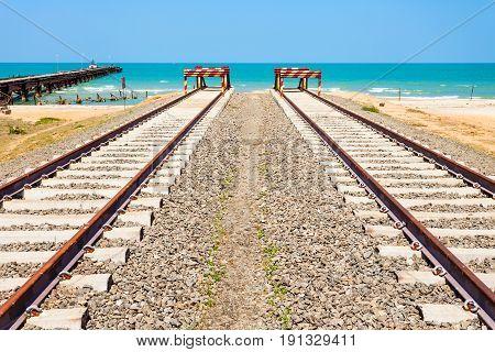 Talaimannar Railroad, Sri Lanka
