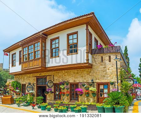 The Ottoman Houses In Kaleici