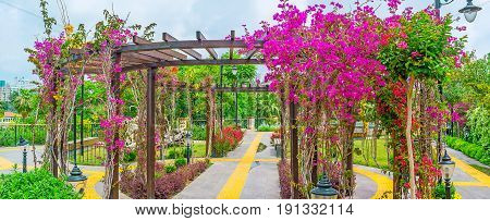 Alcove In Flowers