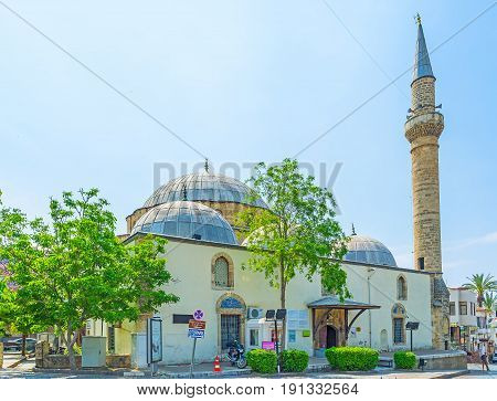 The Mosque In Antalya