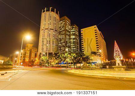 Colombo City Skyline View