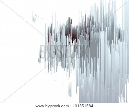 Abstract background consisting of lines, vector illustration.