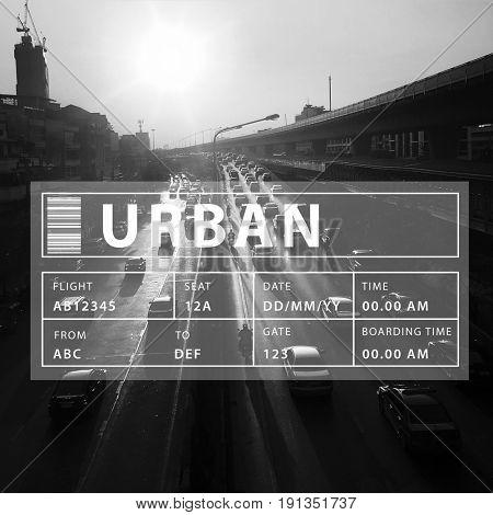 Urban City Life Commerce Community Living