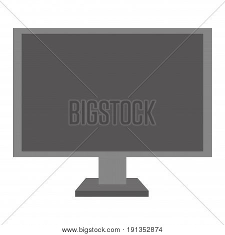 display monitor isolated icon vector illustration design