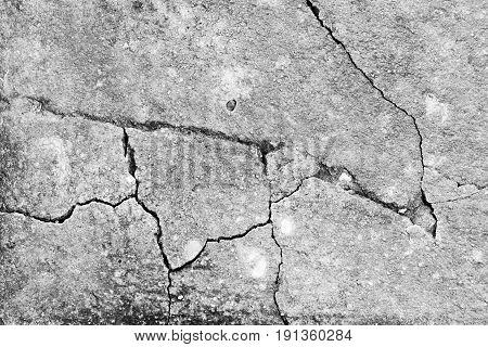 Crack white concrete texture background.Old concrete vintage concept.