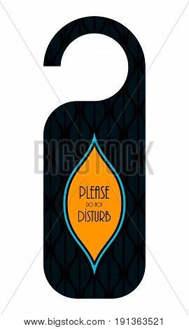 Do Not Disturb Hotel Door Knob, Door Hanger With Special Design