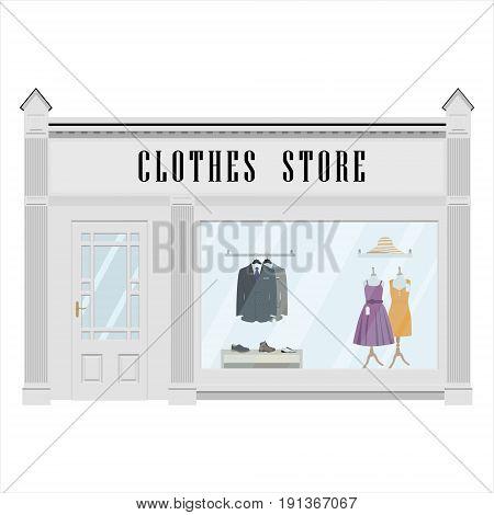 Clothes Store Facade