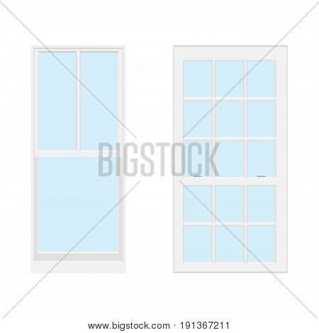 Realistic Window Vector