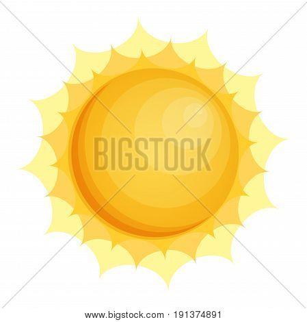 Sun icon Sun icon eps10 Sun icon vector flat