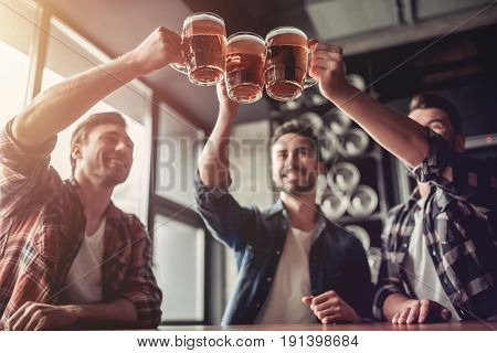Men In Bar