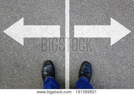 Decision Decide Business Concept Businessman Goals Success Solution Job Work