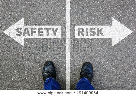 Risk And Safety Management Assessment Analysis Company Business Concept Businessman