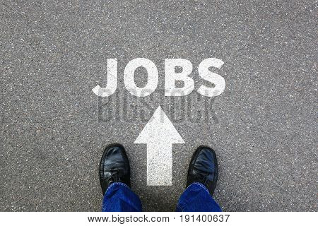 Jobs, Job Search Searching Working Recruitment Businessman Business Man Concept