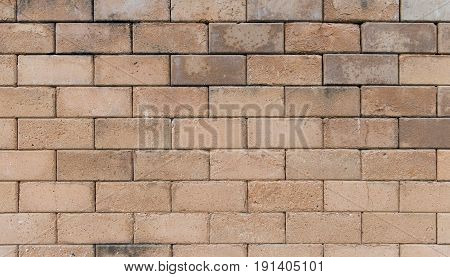 ackground of red brick wall pattern texture.