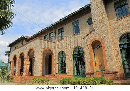 Historical Berrick Hall in Yokohama Japan. Berrick Hall was built in 1930 in Yamate foreign residents area.